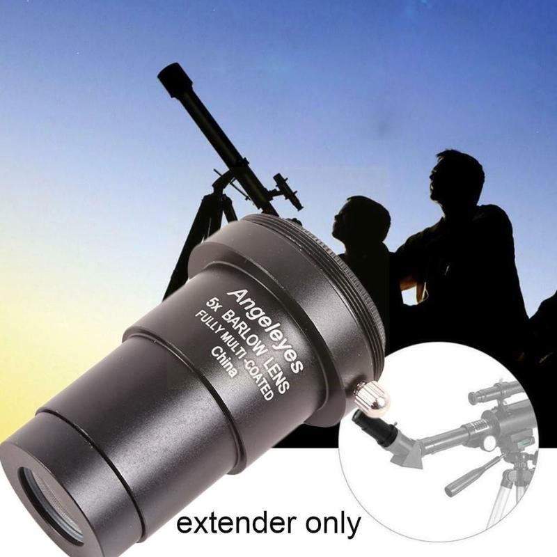 Lens Adapters & Mounts Angeleyes M42x0.75 Metal 5x Barlow / 1.25 31.7mm Telescope For Astronomical Eyepiece Inches Binoculars E6V7