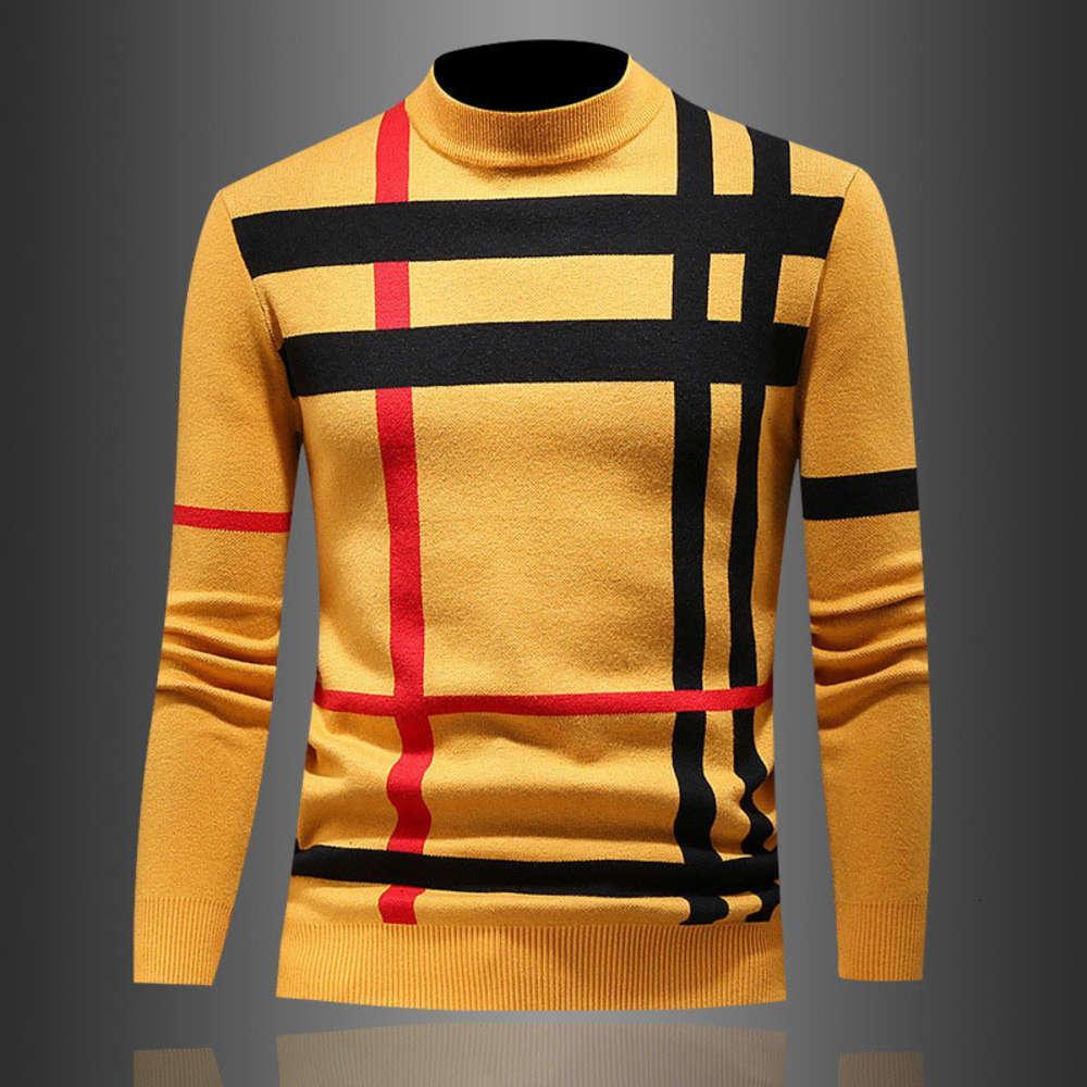 Pull Sweater Hommes Sweat-shirt Sweatshirt Coucher d'équipage Pull à manches longues Impression à manches longues Tricotés Pulls en cachemire Grande taille M-4XL