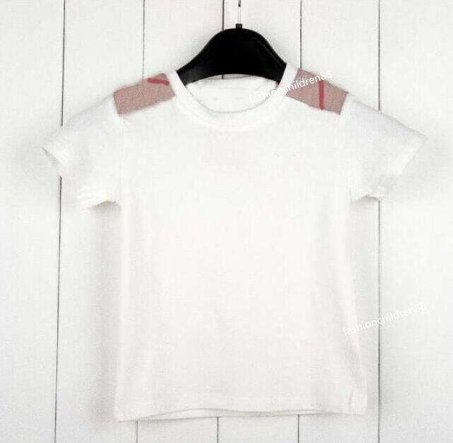 Girls Summer T-shirt Kids Clothes Tops Tees Tee Baby Girls Boys Shirt Tshirt Children Cotton Clothing Tops