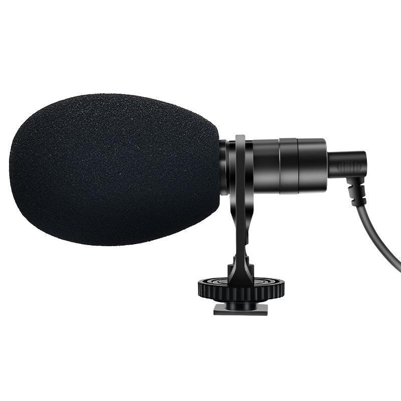 Yichuang vm-400 caméra microphone de microphone de 3,5 mm dédié mini-téléphone mobile microphone en direct