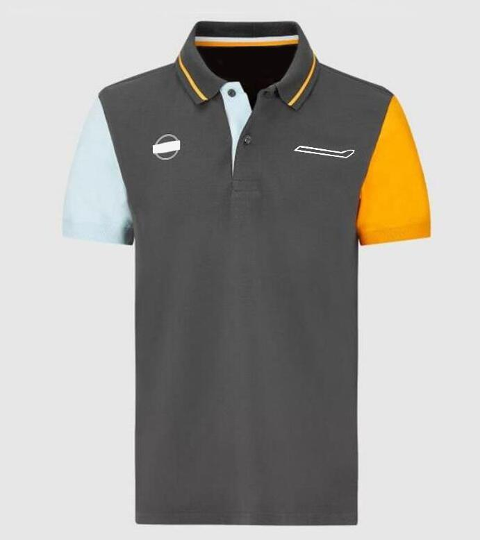 F1 Team Polo Jersey 2021 Nouvelle chemise de course avec la même personnalisation de style