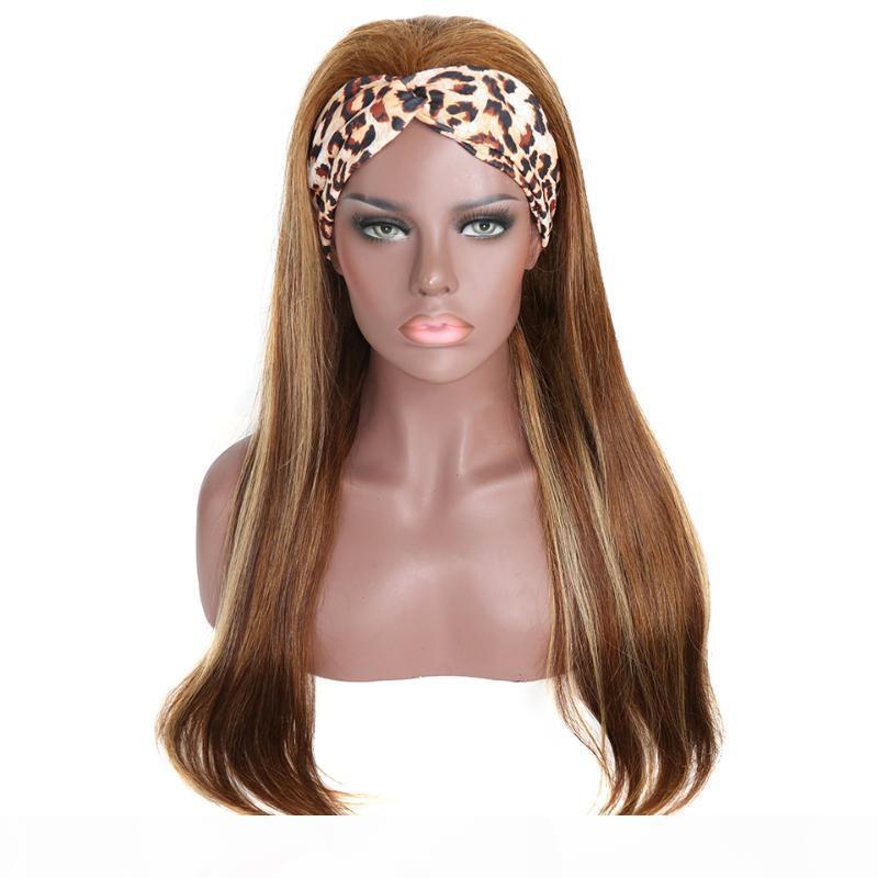 # 4 27 Выделение цветных волос человеческих волос с париками голова
