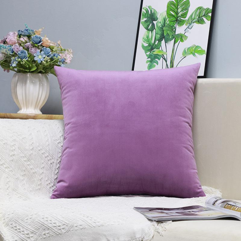 X238 Küçük Taze Kucaklama Yastık Dikey Şerit Süet Yastık Örtüsü Ev Eşyaları Hug Yastık Kalıcı Katı Renk Yastık ASDF Kapakları