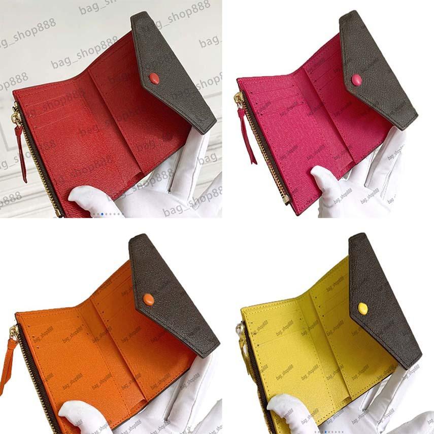 Frauen Handtasche Kurze Brieftasche HASP FOLDING Echtes Leder Original Tasche Seriennummer Geldbörse Brieftaschen Halter Umhängetaschen Bag_shop888 0