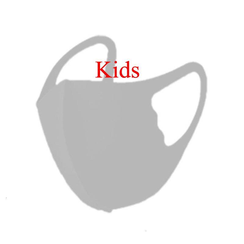 Kinder Maske Mode Designer Gesichtsmasken Gesicht Schwarz Camo Eis Seide Weiß Staubfest Erwachsene Berühmtheit Sonnencreme dünn atmbar XHBPZO