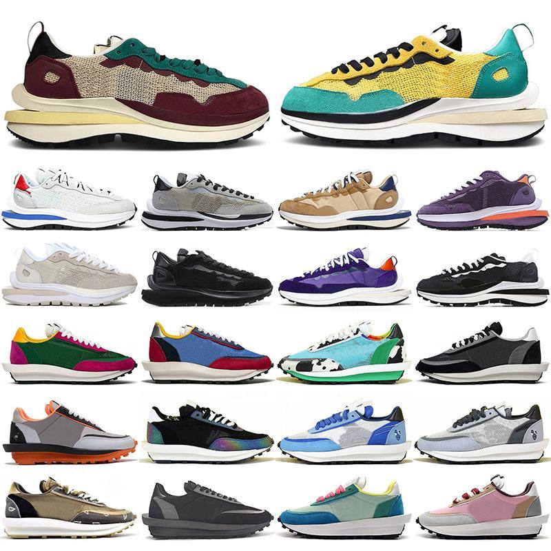 sacai x Nike LDV Waffle shoes men women shoes ldv vaporwaffle Black White Nylon LDWaffle Pine Green Pigeon Gusto outdoor womens mens trainers sports sneakers size 36-45