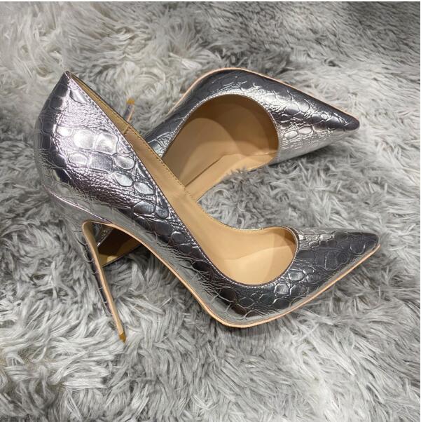 Tão Kate Styles 8cm 10 cm 12cm Plus Size Euro45 Mulheres Sapatos de Salto Alto Vermelho Bottom Praça Pontos de Teos Bombas Bombas de Borracha Vestido De Noiva Sapatos