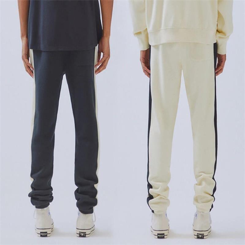 3 Vente Femmes de la couleur de la couleur de Dieu Cordon de cordon de cuisson Hip Pantalons Pantalons Essentials Streetwear Hop Hommes Haut Joggers Couleurs de qualité Hot Jcoll