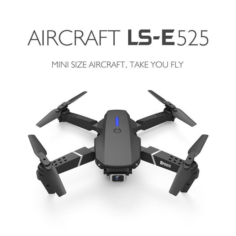 بدون طيار LS-E525 بدون طيار 4K HD عدسة مزدوجة مصغرة الطائرات بدون طيار wifi 1080 وعاء في الوقت الحقيقي انتقال fpv الطائرات بدون طيار مزدوجة كاميرات قابلة للطي rc quadcopter deson