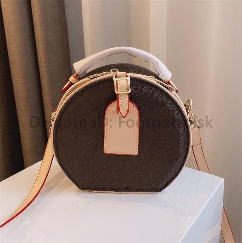 BAGNA CLASSICA DI DESIGNERS DESIGNERS BAG BAGNA DI ALTA QUALITÀ Handbag circolari di alta qualità 2021 Donne crossbody borse stampate frizione di moda stampate