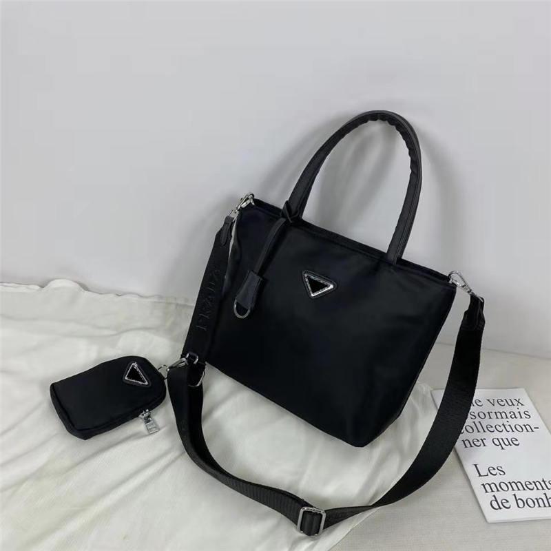 Bolsos de moda de las mujeres bolsos de hombro grandes bolsas de compras de las señoras de las señoras Casual Tote PU Cuero de la moda Bolsa de hombro Monedero femenino