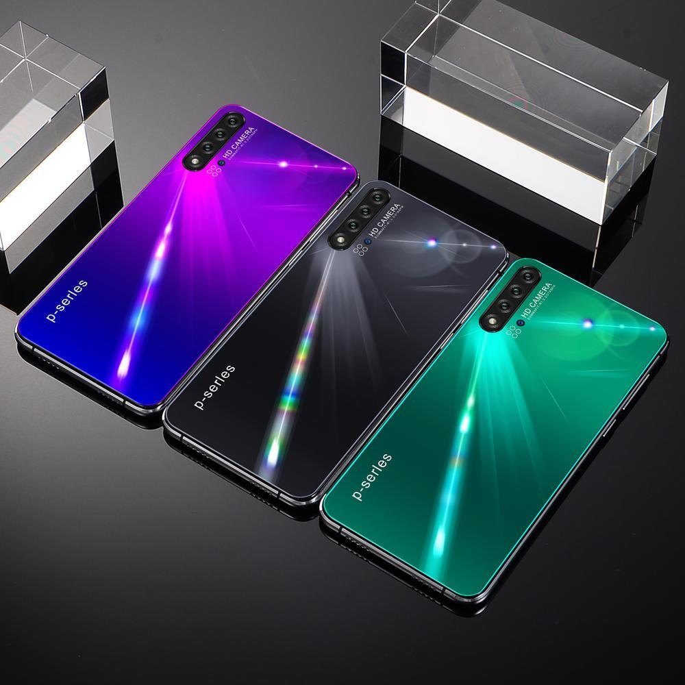 트리플 카메라 Goophone 5.8inch 노트 10 휴대 전화 MTK6580 512MB RAM 4GB ROM 쇼 4 + 64 WiFi Bluetooth 핸드폰 Andorid 시스템