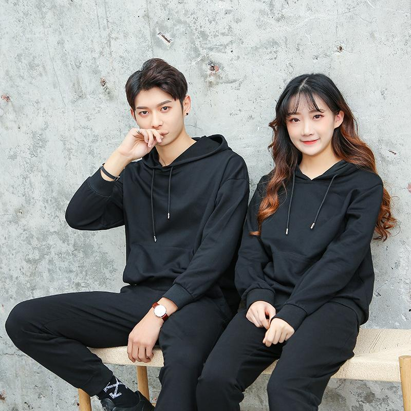 2021 Men's Casual Couple Two Piece Running Sportswear Women's Spring and Autumn