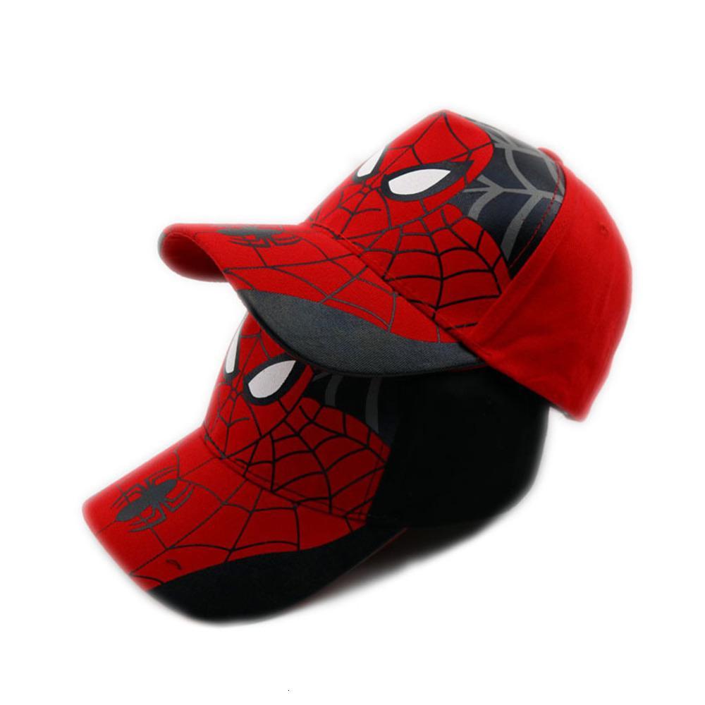 Coréen araignée homme de baseball homme de baseball enfant cool bébé chapeau de soleil 2-8 ans