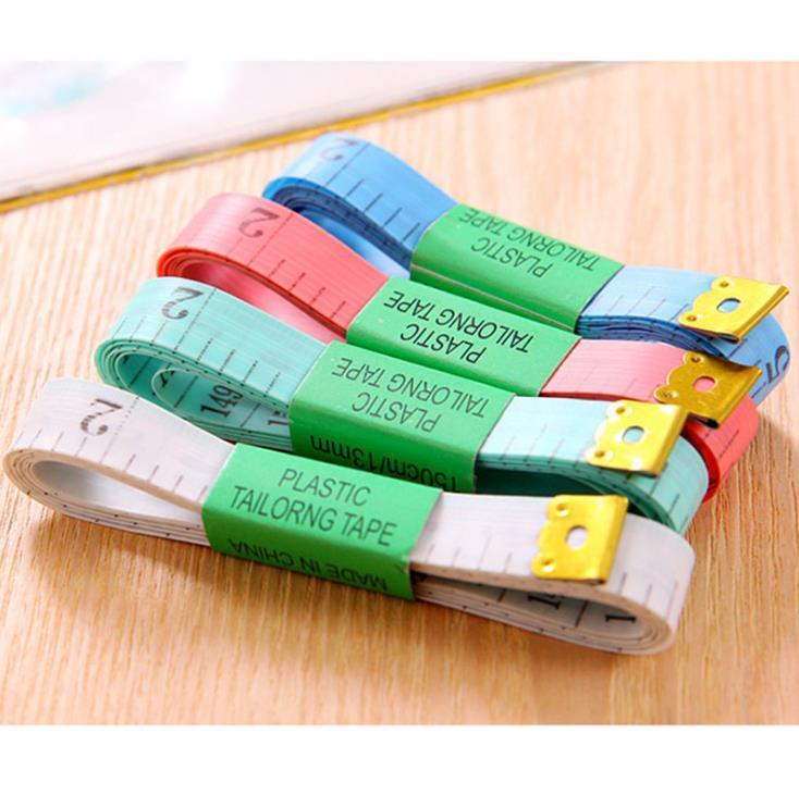 Cinta métrica de costura Cinta de costura Cinta métrica Cinta de costura plana suave Suministros portátiles Envío gratis SN2059