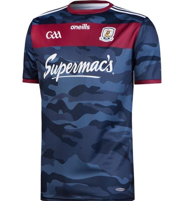 GAA Dublino ATS Cliath Gaiillimh Tipperary Ciobraio Arann Rugby Jerseys League Shirts 2020 Hot A444