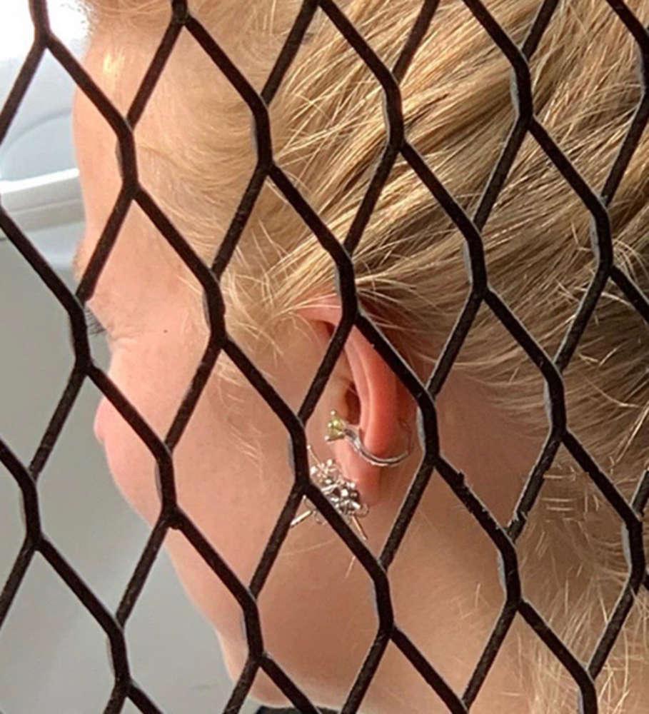 HBP Fashion Ins Нет дыры Простое кольцо с бриллиантным хип-хопшим ухо Cost Clip Clips для мужчин и женщин