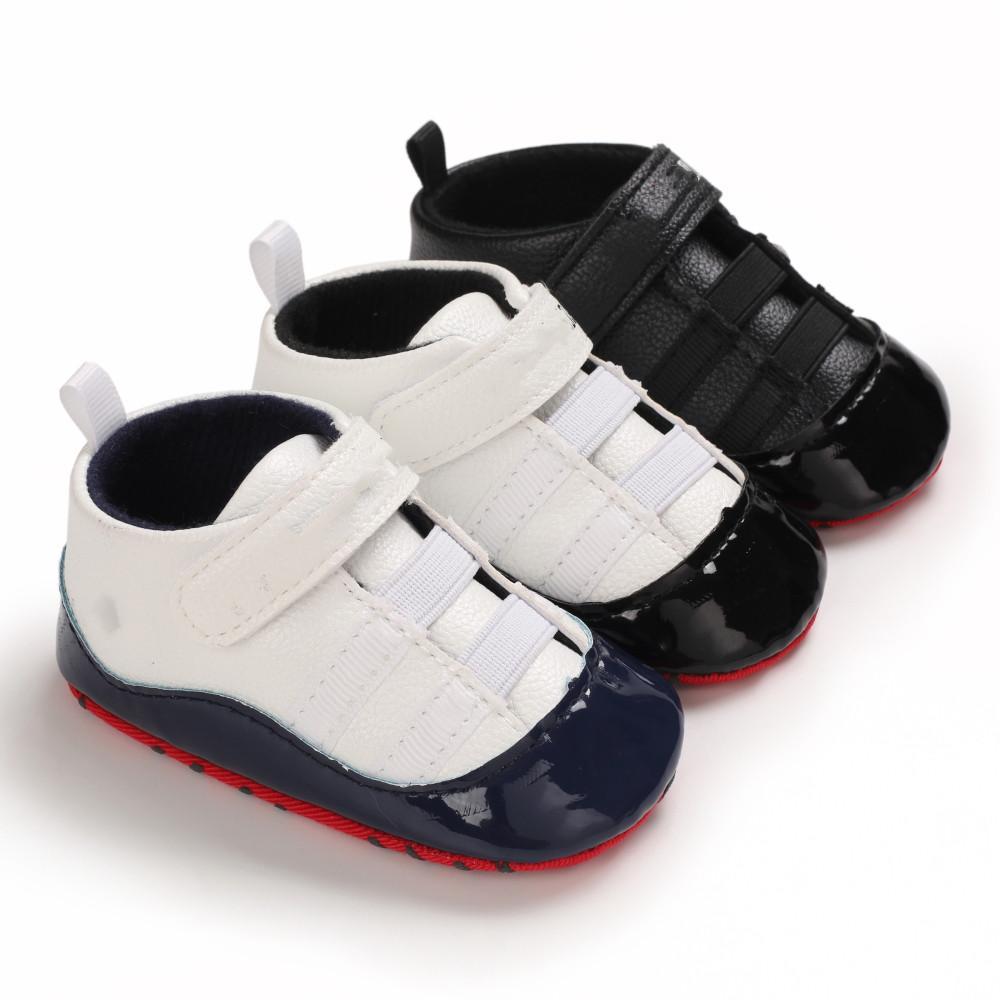 طفل أول مشوا الأطفال الأحذية الجلدية الرضع الرياضة أحذية رياضية أحذية الاطفال النعال طفل لينة وحيد الشتاء الدافئ الخف إسقاط السفينة