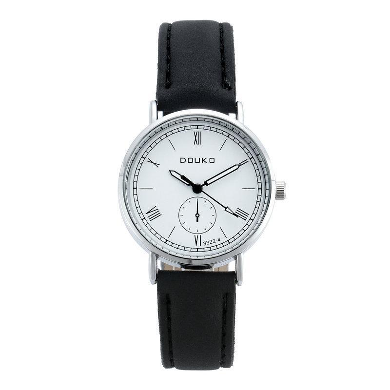 Armbanduhren Lässige Frauen Uhren Einfache römische Ziffern Damen Armbanduhr Leder Quarz Uhr Montre Femme Relogio Feminino
