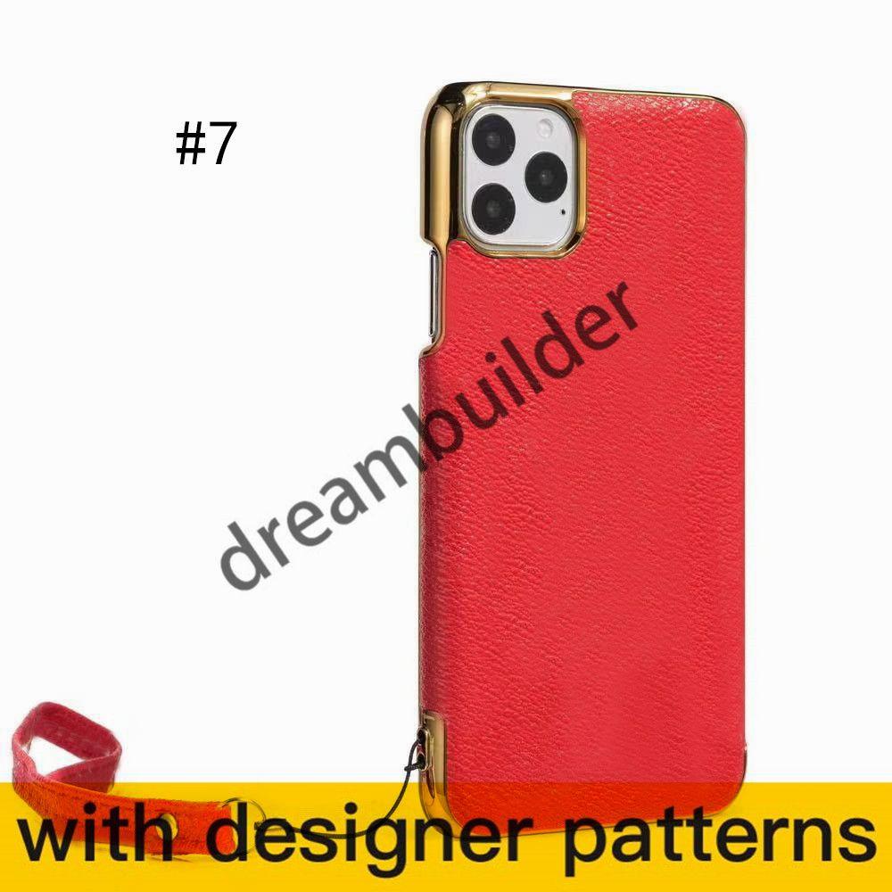 V Casi di moda per iPhone 13 Pro Max 12 11 12Pro 13Promax Case x XR XS XS XSMax PU Copertura del telefono Protezione Protective Designer Shell