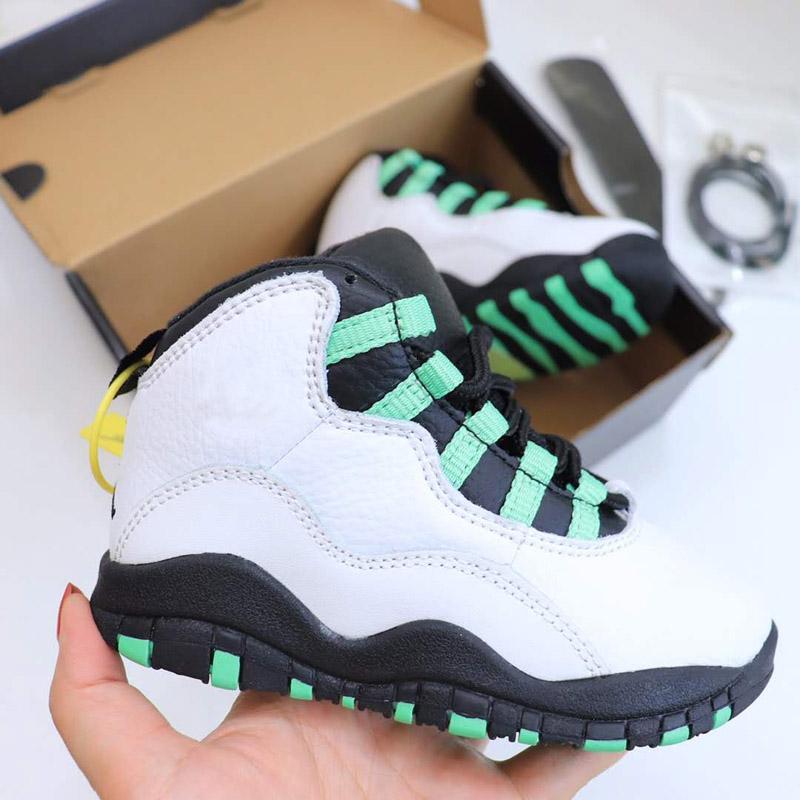 Yeni 10 Basketbol Çizmeler Çocuk Erkek Kız Çocuk Gençlik Basketbol Spor Ayakkabı X Sneaker Boyutu EUR 25-35