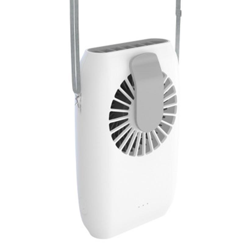 USB mini ventilatore ventilatore elettrico ventilatore a sospensione a vita a sospensione collo portatile portatile