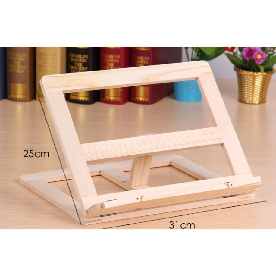 Adjustable Portable Wood Book Stand Holder Wooden Bookstands Laptop Tablet Study Cook Recipe Books Stands Desk Drawer O jllYWb soif