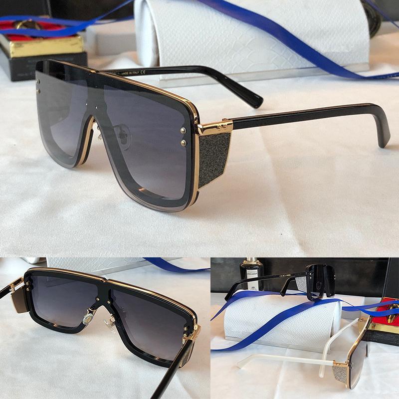 Kadınlar için Güneş Gözlüğü Yaz Stil Anti-Ultraviyole Retro Meck Plaka Tam Çerçeve Moda Gözlükler Rastgele Kutu