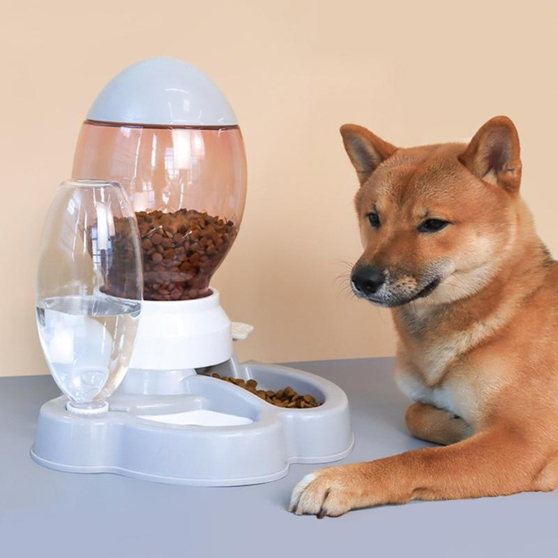 Pet Dog Cat Bowl Fountain Automatic Water Feeder Dispenser Container For Cats Dogs Drinking Eating Products Supplies Bowls & Feeders