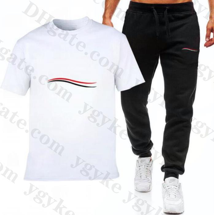 Camisetas de alta calidad Top y pantalones Trajes de lujo Trajes de lujo para hombre Ropa deportiva Casual Traje de sudor Sporting Ropa Dos piezas Conjunto Ropa para hombre