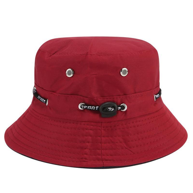 2021 Moda Balıkçılık Şapka Güneş Koruma Güneş Şapka Açık Çay Toplama Kova Şapka Erkekler Ve Kadınlar Aynı Stil Kova Tüm Maç Çapı Touris