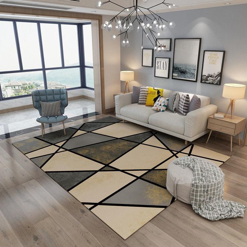 Teppiche Nordic Style Teppich Wohnzimmer Sofa Couchtisch Kissen Schlafzimmer Nacht Full Shop Home Garderobe Modern und einfach