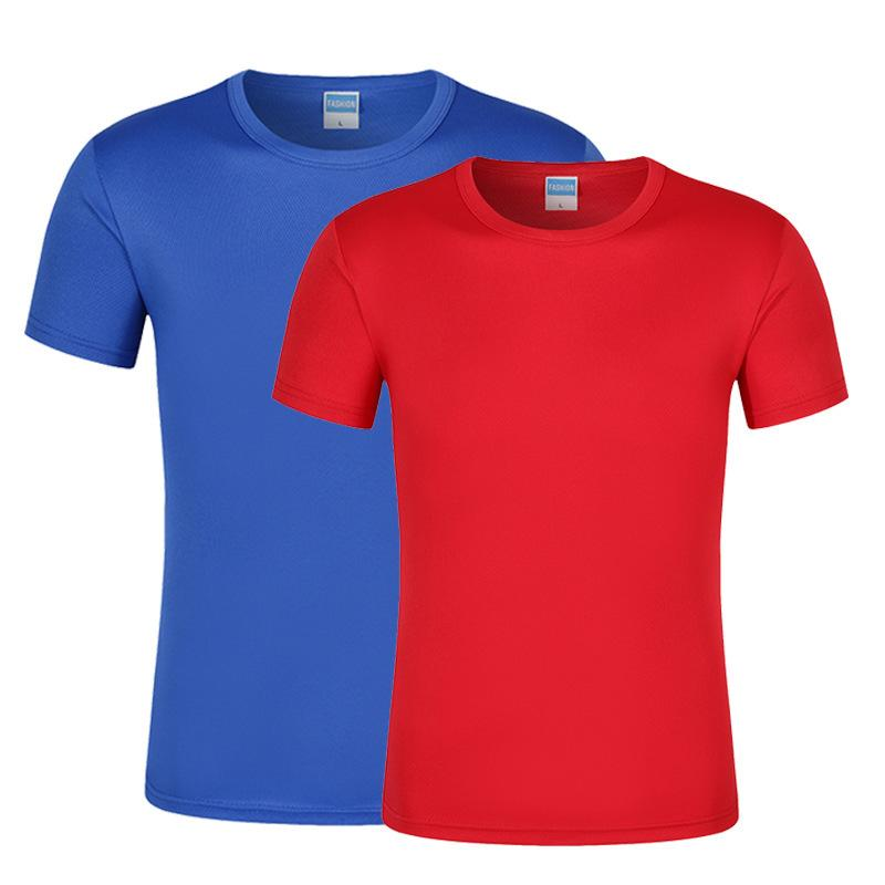 Loisirs de plein air manches courtes pour hommes et femmes séchage rapide vêtements séchage rapide T-shirt Sports Absorption Absorption respirante