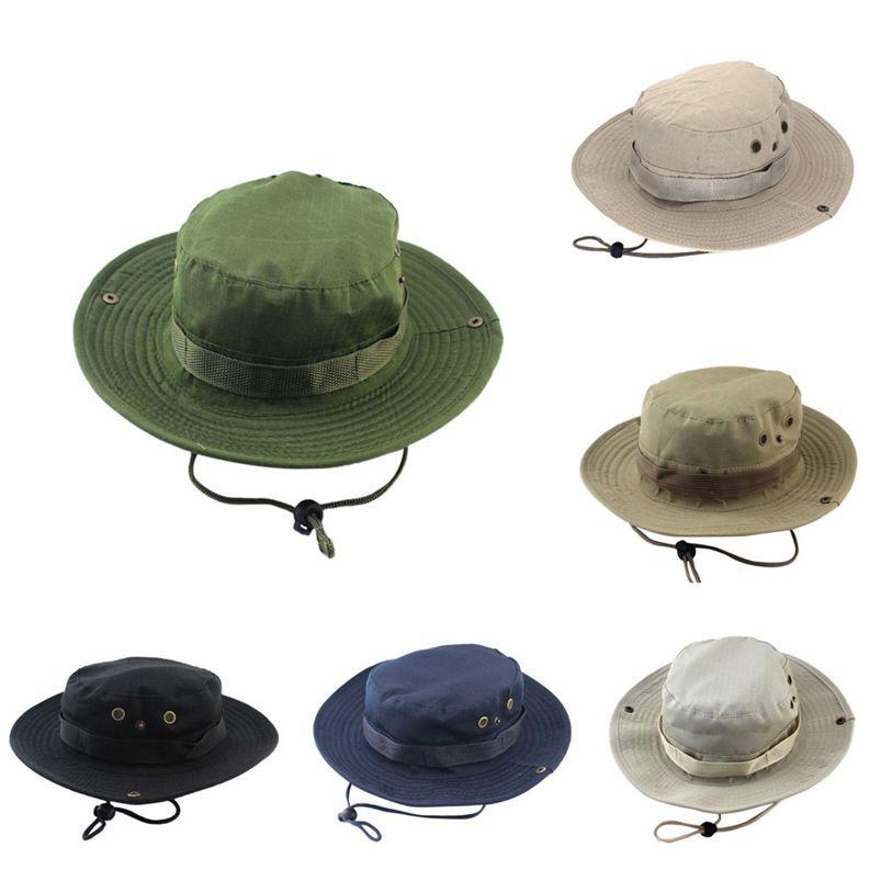 2021 Moda Erkekler Güneş Geçirmez Şapka Büyük Ağız Balıkçı Şapka Güneş Şapka Kore Moda Tırmanma Açık Balıkçılık Kap Yaz Güneş Koruma