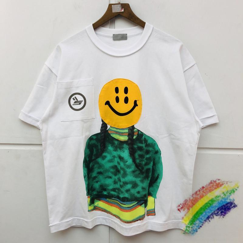 Gevşek Doğan Ağrı Sicko T Shirt Erkek Kadın En Iyi Kaliteli Boy Standık Bez Üst Tees T-shirt C0304