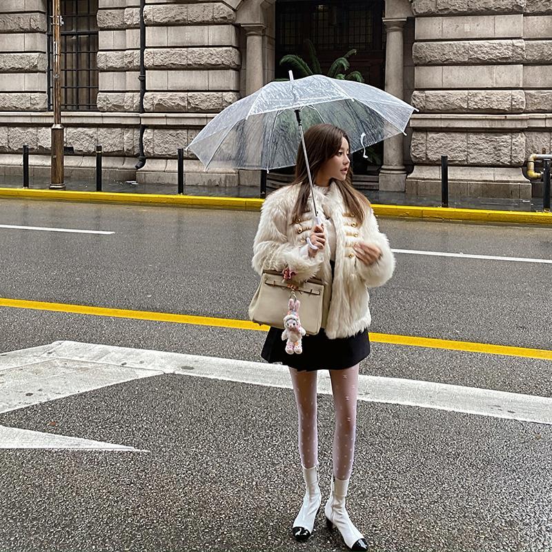 Весна и осень Новый Французский Французский Знаменитость Xiaoxiang Ультра Тонкая буква Черные Шелковые чулки Гонконг Стиль Сексуальный универсальный Кружек