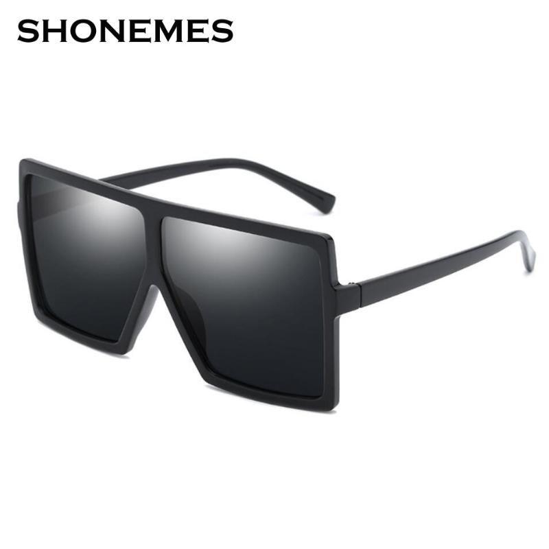 Sonnenbrille Vintage übergroßen Frauen Mode Platz Große Rahmen Design Eyewear Für Damen UV400 Sonnenbrille