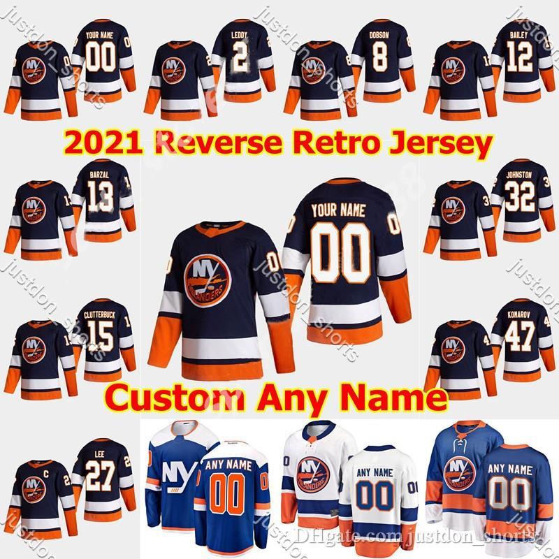New York Islanders 2021 Retro Retro Hockey Jersey 8 NOAH DOBSON Jerseys Anthony Beauvillier Oliver Wahlstrom Johnny Boychuk Costada costada
