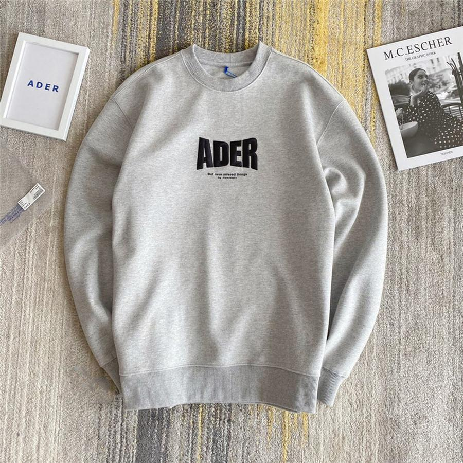 2021 New Embroidery Error Sweatshirts Men Women 1:1 Adererror Hoodie Letter Z-stitch Ader Crewneck Kanye West W643