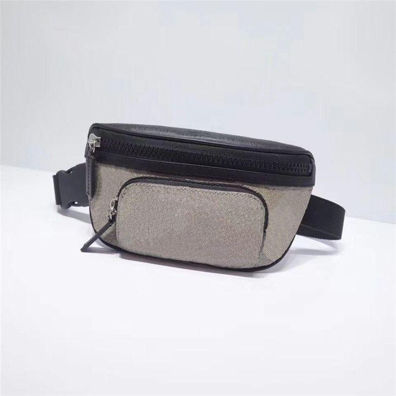 Estilo Clássico Mulheres e Homens Moda Cintura Sacos Genuíno Fanny Fanny Pack Impresso Designer FannyPack Cinto Bag 450946
