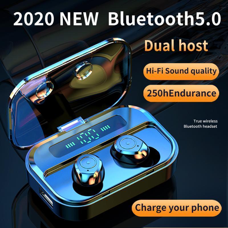Tws Bluetooth 5.0 Kopfhörer M7s Wireless Earset Stereo Gaming Kopfhörer Ohrhörer 1500mAh Ladekiste