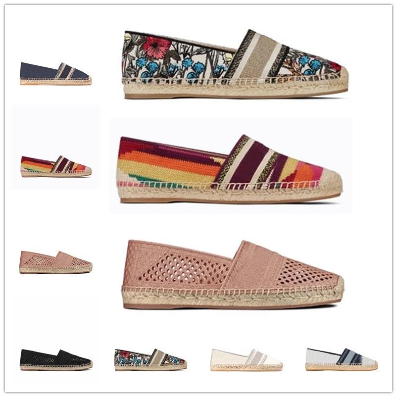 الفاخرة مصمم أحذية النساء عارضة الأحذية الكلاسيكية خمر منصة espadrilles loafer الفتيات جلد طبيعي الأزياء شقة أسفل المشي الأحذية