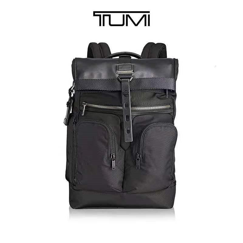 Tumi / Tuming Alpha Bravo Series Negócios Multi Propósito Masculino Mochila Masculina Bolsa de Computador 232388