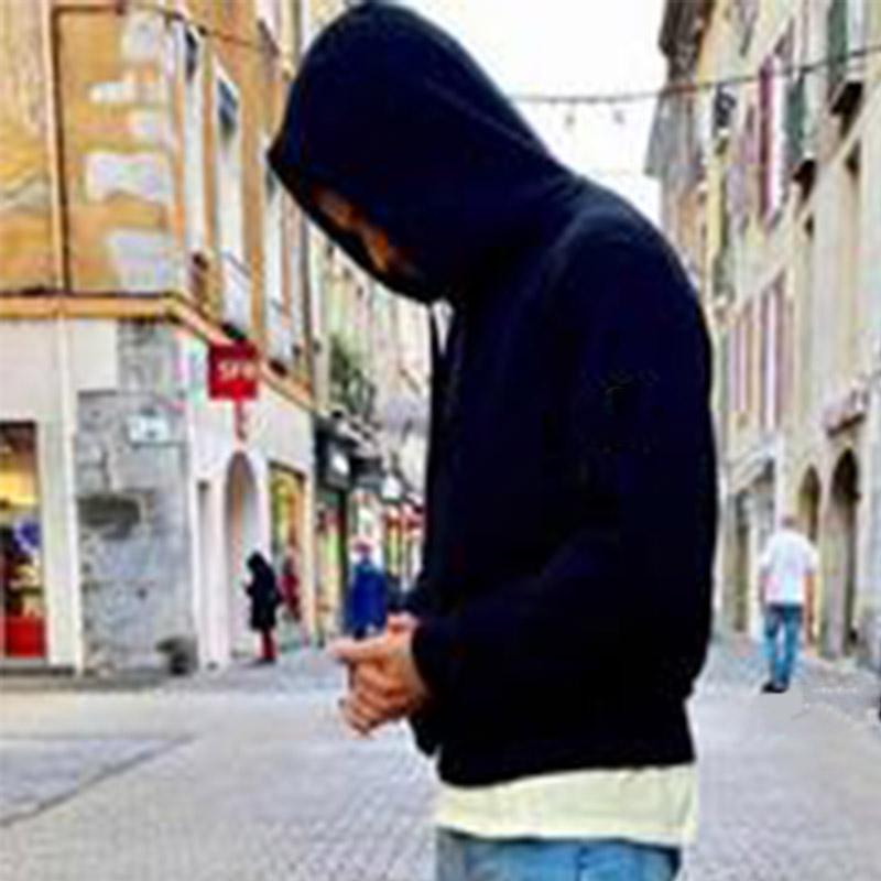 Moda Mens Mens Womens Hoodies para outono e inverno 20fw casual homens moletom com capuz nova braçadeira camisolas tamanho M-2XL