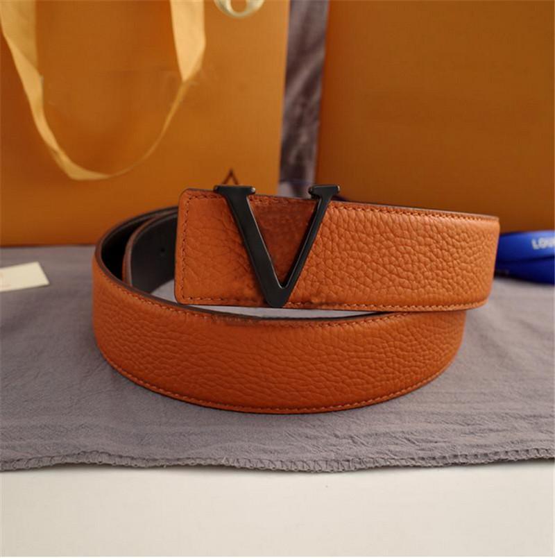 Hochwertige 3,8 cm Rindsgürtel Gürtel für Männer Frauen Mode Designer Freizeit- und Geschäftsgürtel Verfügbare Großhandel