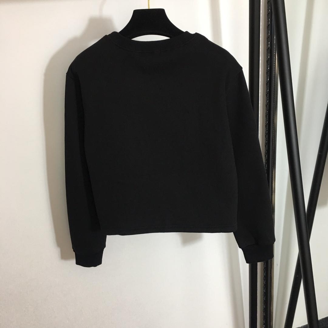 2021 дизайнер новый высококачественный пользовательский вышитый свитер мода всех матчей мужчин и женщин с одинаковым стилем32028WJF