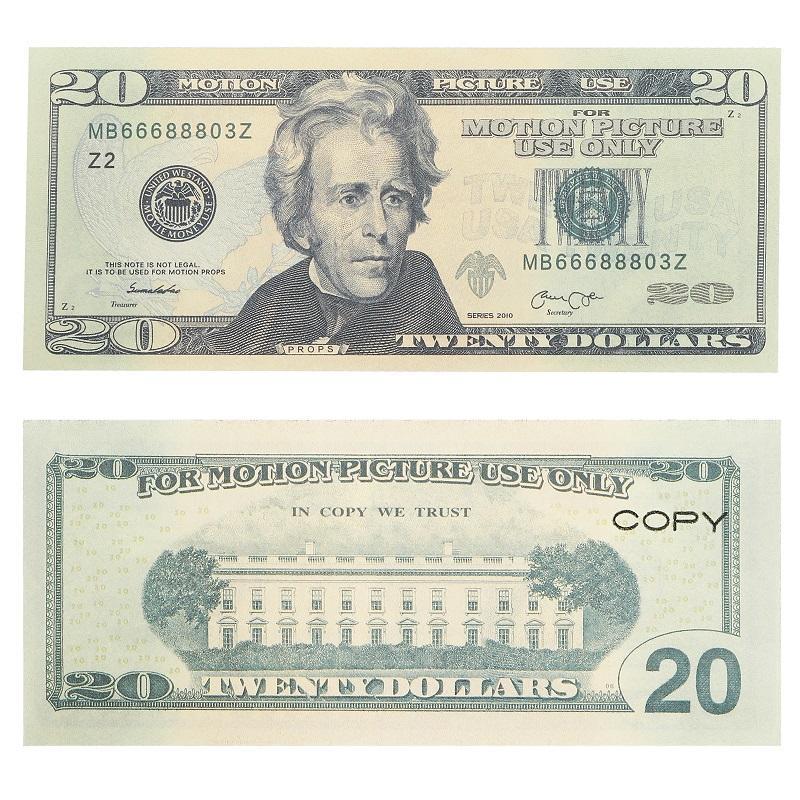 مضحك لعبة المال الفيلم الدعامة البنكنوت 10 دولارات عملة حزب الملاحظات وهمية الأطفال هدية 50 دولار تذكرة للأفلام، الإعلان، اللعب، الألعاب