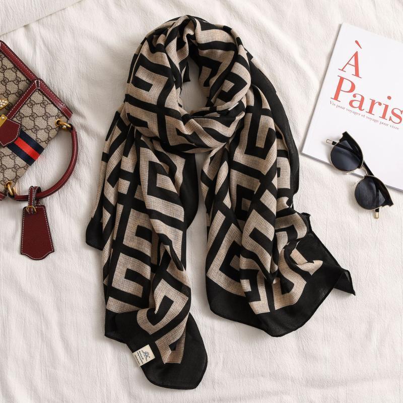 Sciarpa a strisce di moda Donne Designer Sciarpe Uomo Inverno Scialle Caldo Bandana Wraps Bufanda Mujer