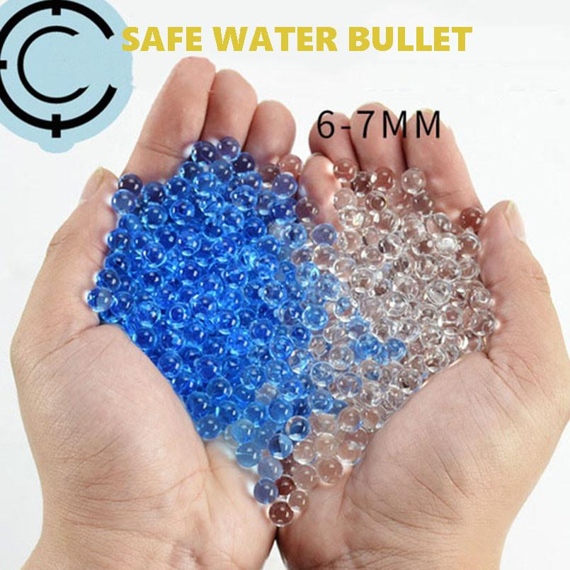 10000Pcs 6mm Crystal Soft Paintball Bullets Water Bullet Toys Gun Accessories Paintballs Waters Beads Grow Balls Boys Toy Home Decor