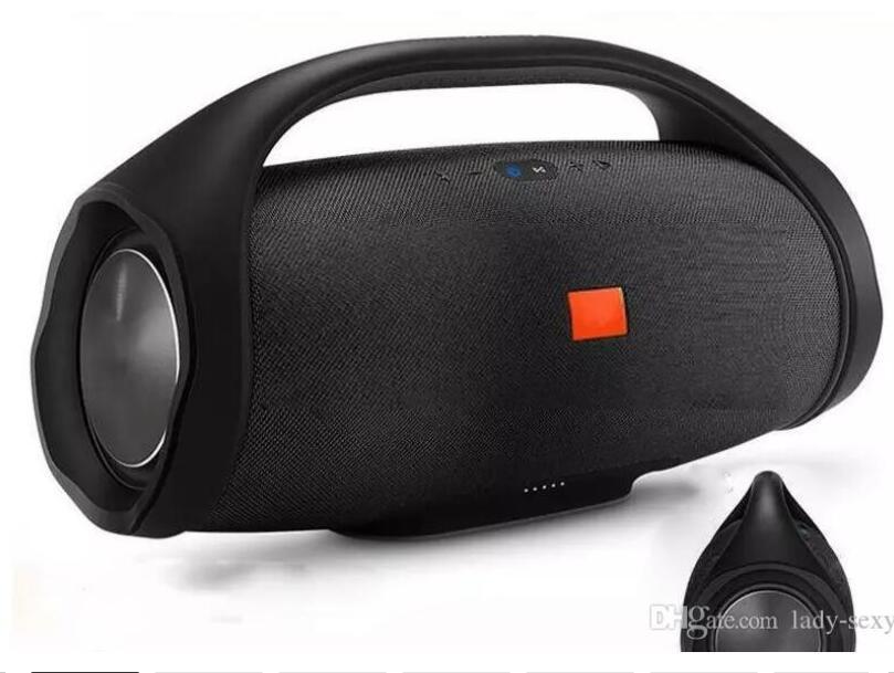 Boombox Bluetooth Altoparlante stere stere 3D Subwoofer HiFi HiFi Subwoofer portatile portatile da esterno 6000mAh con scatola al minuto